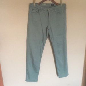 Anthropologie jeans the Stevie ankle